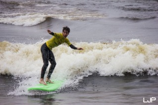 the stoke of getting your first wave